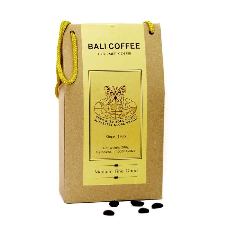 Kupu Kupu Bola Dunia - Bali Coffee Kristal (Tas 200 gr )