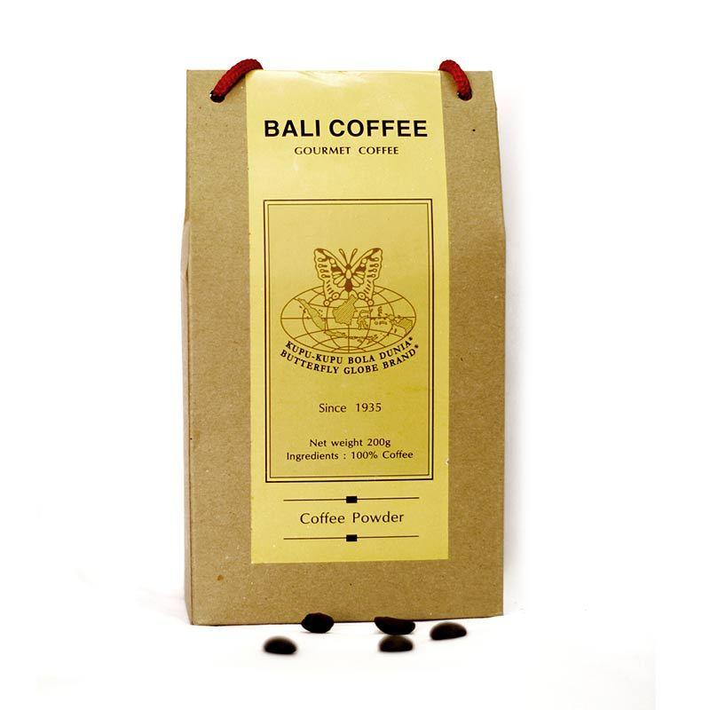 Kupu Kupu Bola Dunia - Bali Coffee Powder (Tas 200 gr)