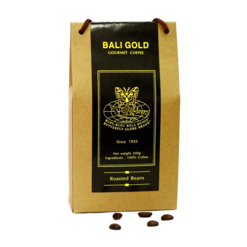 Kupu Kupu Bola Dunia - Bali Gold Coffee Beans (Tas 200 gr)