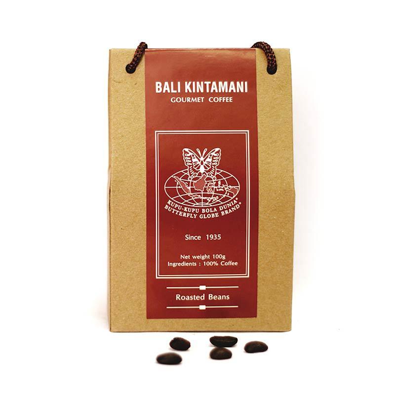 Kupu Kupu Bola Dunia - Bali Kintamani Coffee Beans (Tas 100 gr)