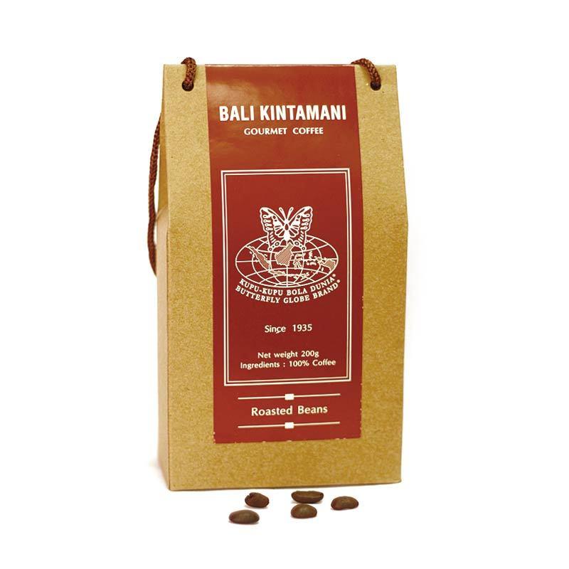 Kupu Kupu Bola Dunia - Bali Kintamani Coffee Beans (Tas 200 gr)