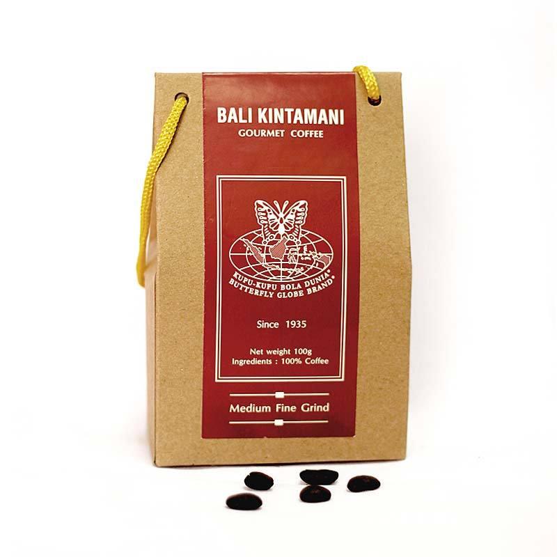 Kupu Kupu Bola Dunia-Bali Kintamani Coffee Kristal (Tas 100 gr)