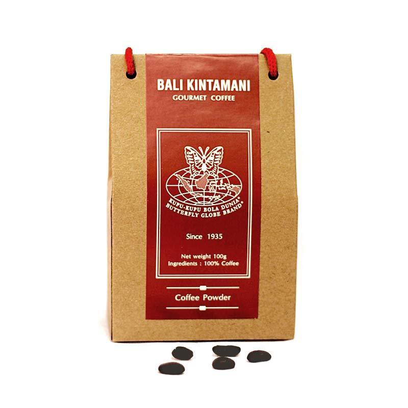 Kupu Kupu Bola Dunia - Bali Kintamani Coffee Powder (Tas 100 gr)