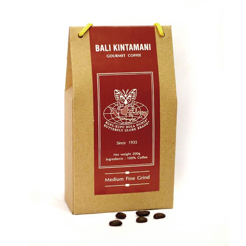 Kupu Kupu Bola Dunia - Bali Kintamani Coffee Powder (Tas 200 gr)