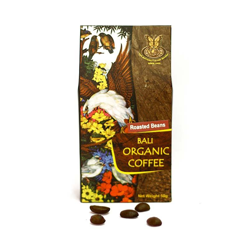 Kupu Kupu Bola Dunia - Bali Organic Coffee Beans 50 gr