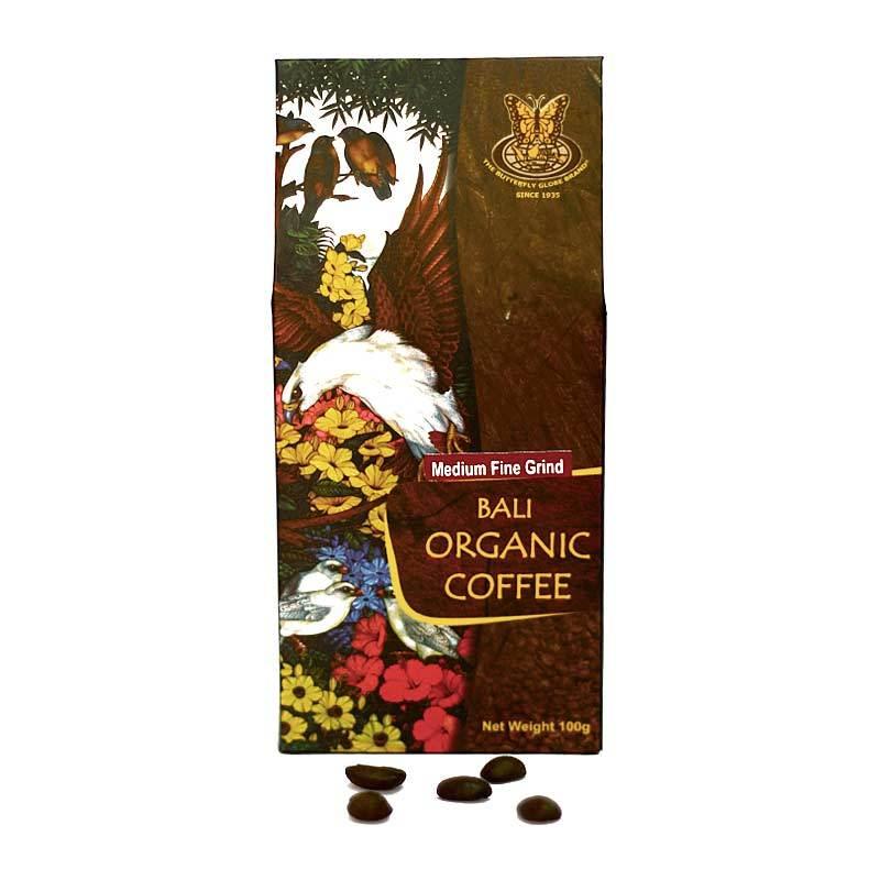 Kupu Kupu Bola Dunia - Bali Organic Coffee Medium Fine 100 gr