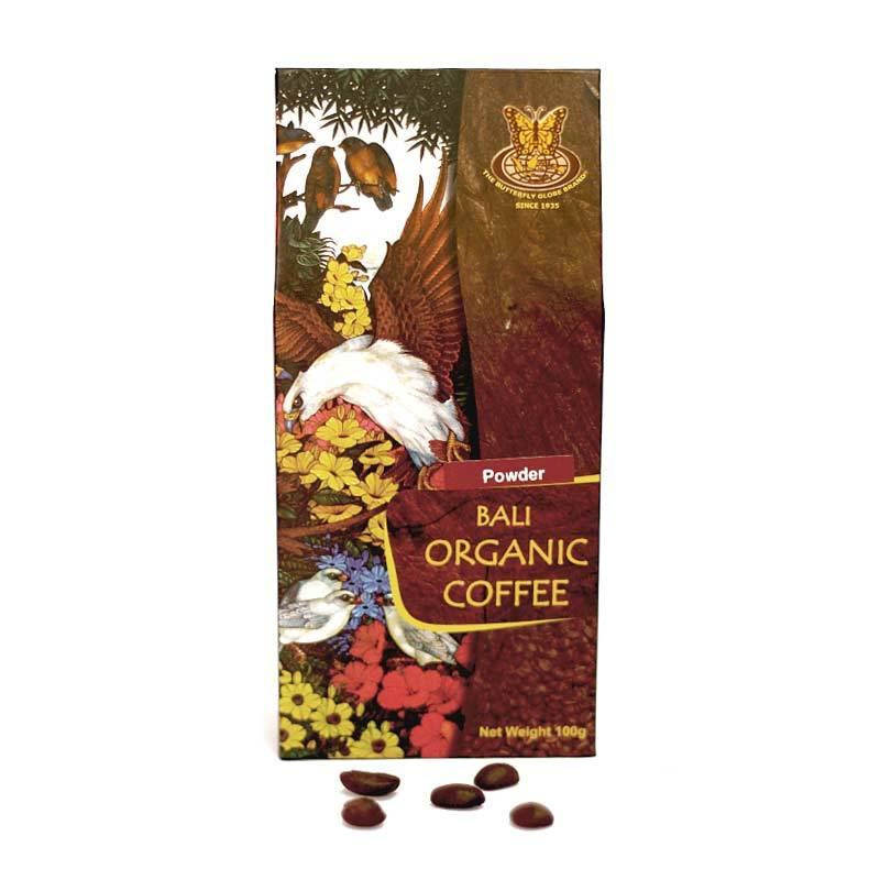 Kupu Kupu Bola Dunia - Bali Organic Coffee Powder 100 gr