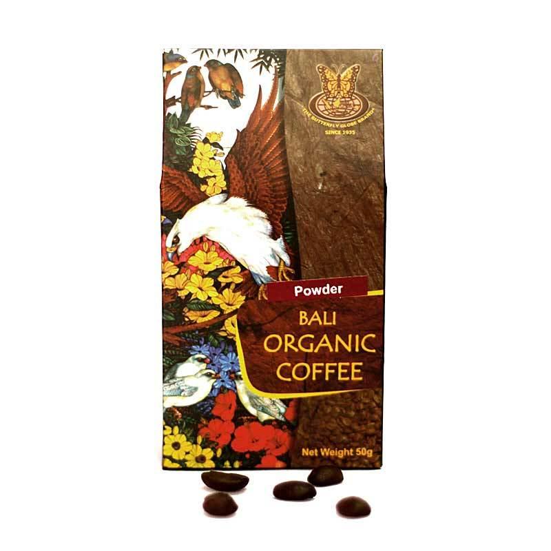 Kupu Kupu Bola Dunia - Bali Organic Coffee Powder 50 gr