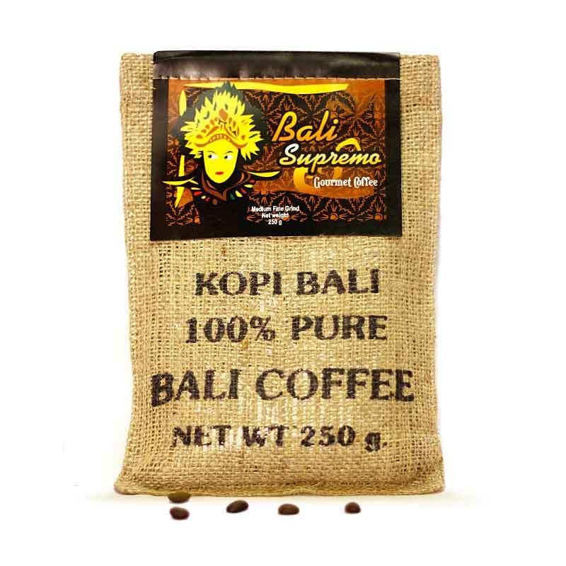 Kupu Kupu Bola Dunia - Bali Supremo Coffee Kristal (Karung 250 gr)
