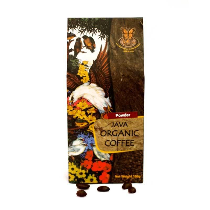 Kupu Kupu Bola Dunia - Java Organic Coffee Powder 100 gr