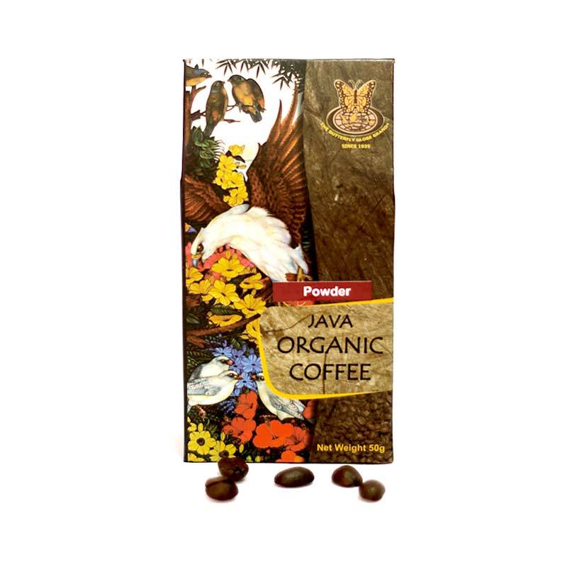 Kupu Kupu Bola Dunia - Java Organic Coffee Powder 50 gr