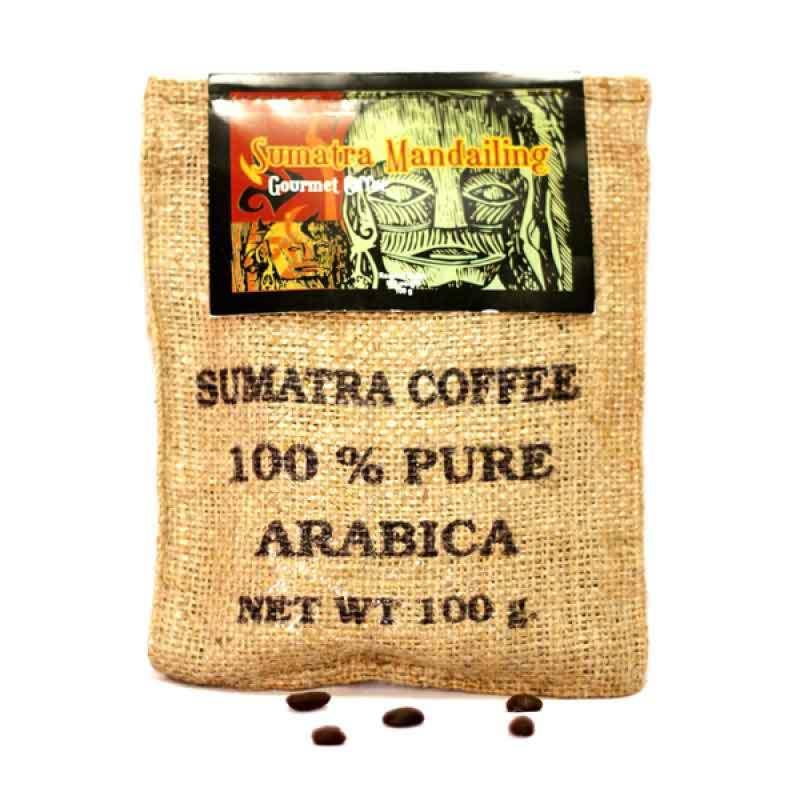 Kupu Kupu Bola Dunia - Mandailing Coffee Beans (Karung 100 gr)