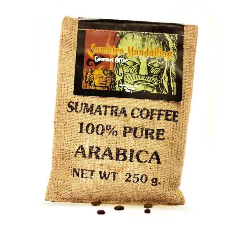 Kupu Kupu Bola Dunia - Mandailing Coffee Kristal (Karung 250 gr)