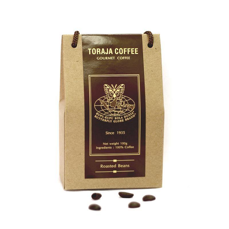 Kupu Kupu Bola Dunia - Toraja Coffee Beans (Tas 100 gr)