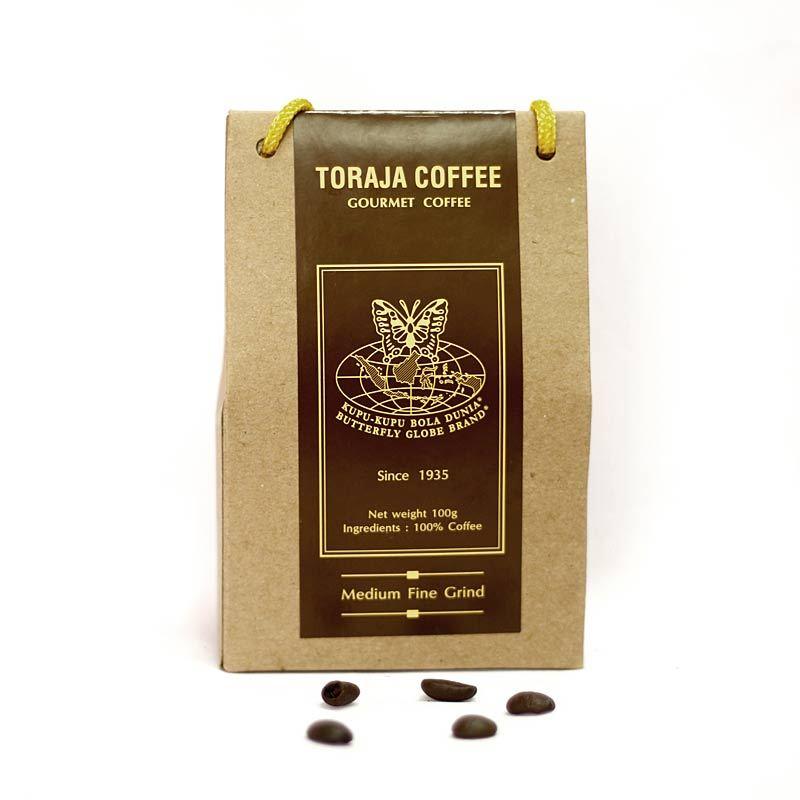 Kupu Kupu Bola Dunia - Toraja Coffee Kristal (Tas 100 gr)