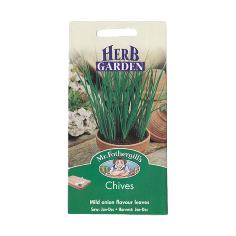 Mr Fothergill's Herb Chives Bibit Tanaman