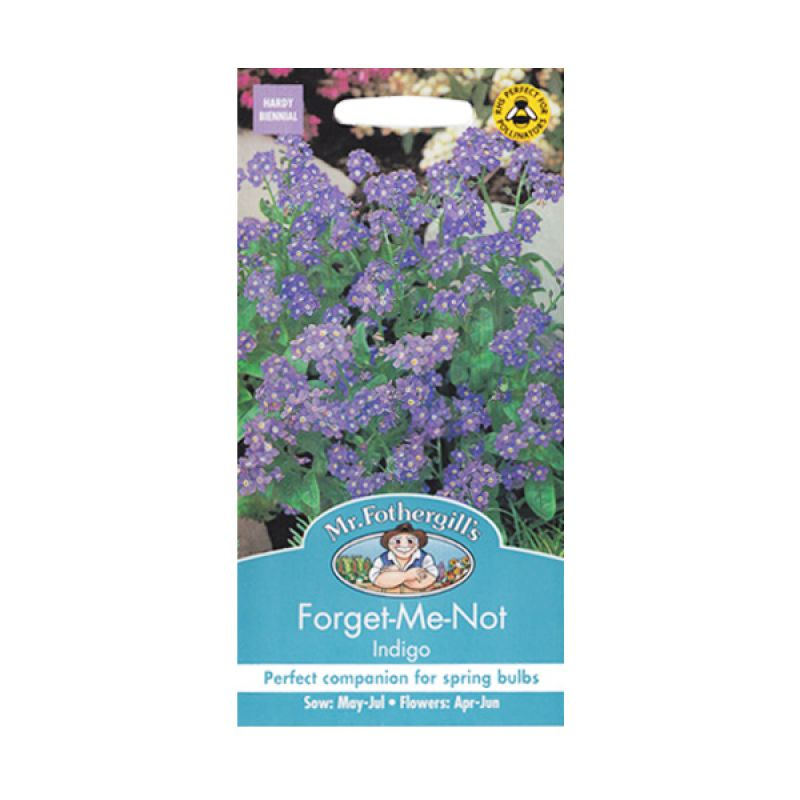 Mr Fothergill's Forget Me Not Indigo Bibit Tanaman