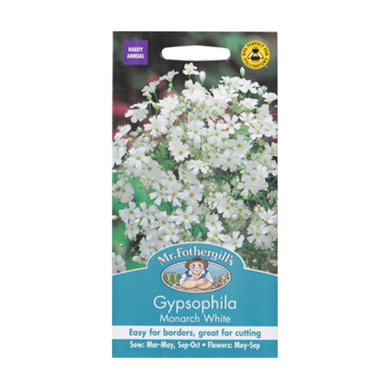 Mr Fothergill's Gypsophila Monarch White Bibit Tanaman