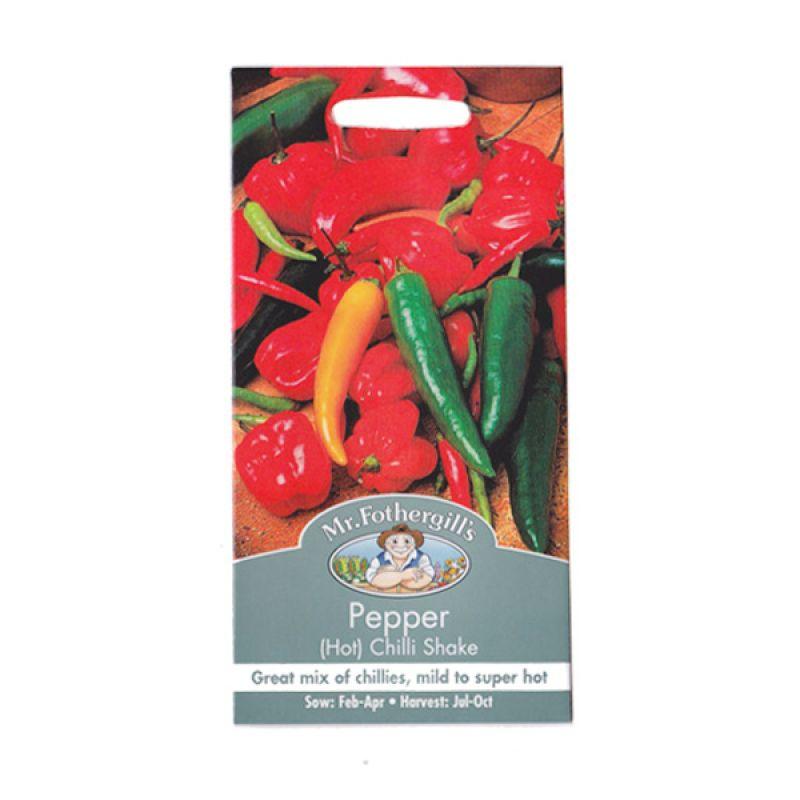 Mr Fothergill's Pepper Chilli Shake Mixed Bibit Tanaman [Hot]