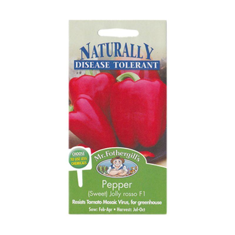 Mr.Fothergill's Pepper (Sweet) Jolly Rosso F1 Bibit Sayuran