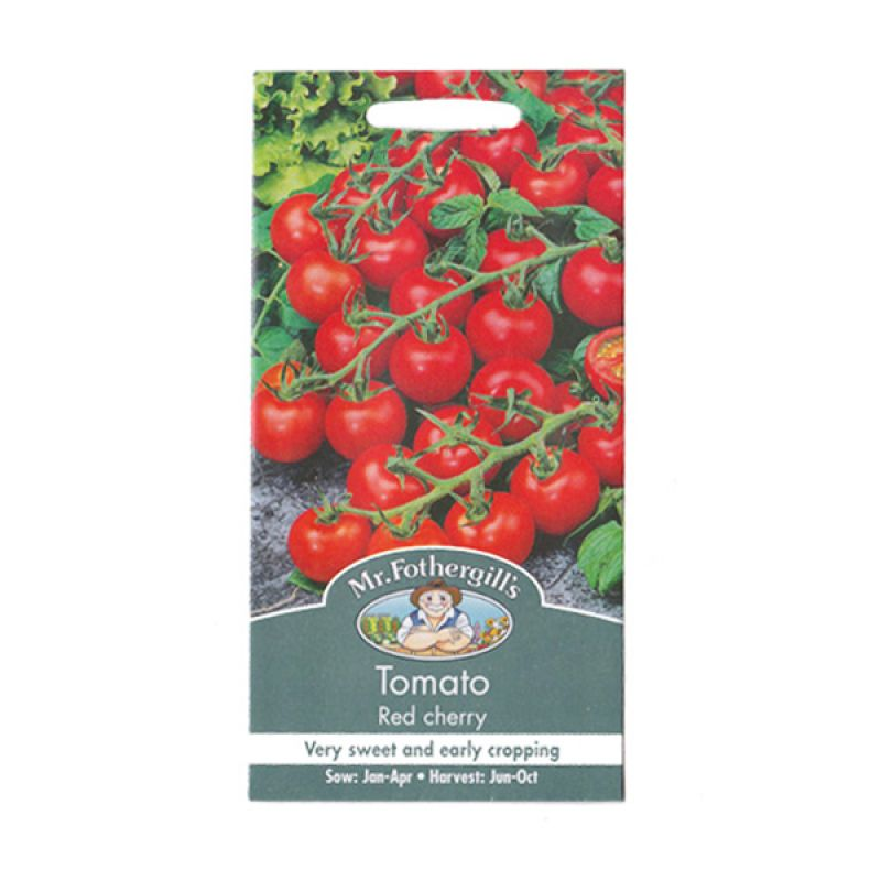 Mr Fothergill's Tomato Red Cherry Bibit Tanaman