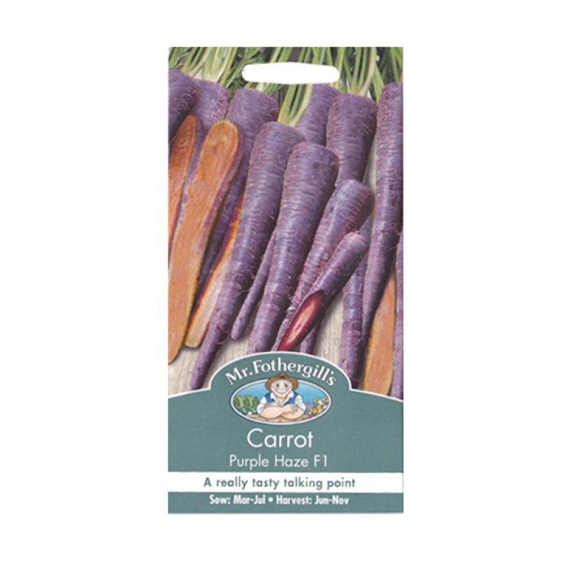 Mr Fothergill's Carrot Purple Haze F1 Bibit Tanaman