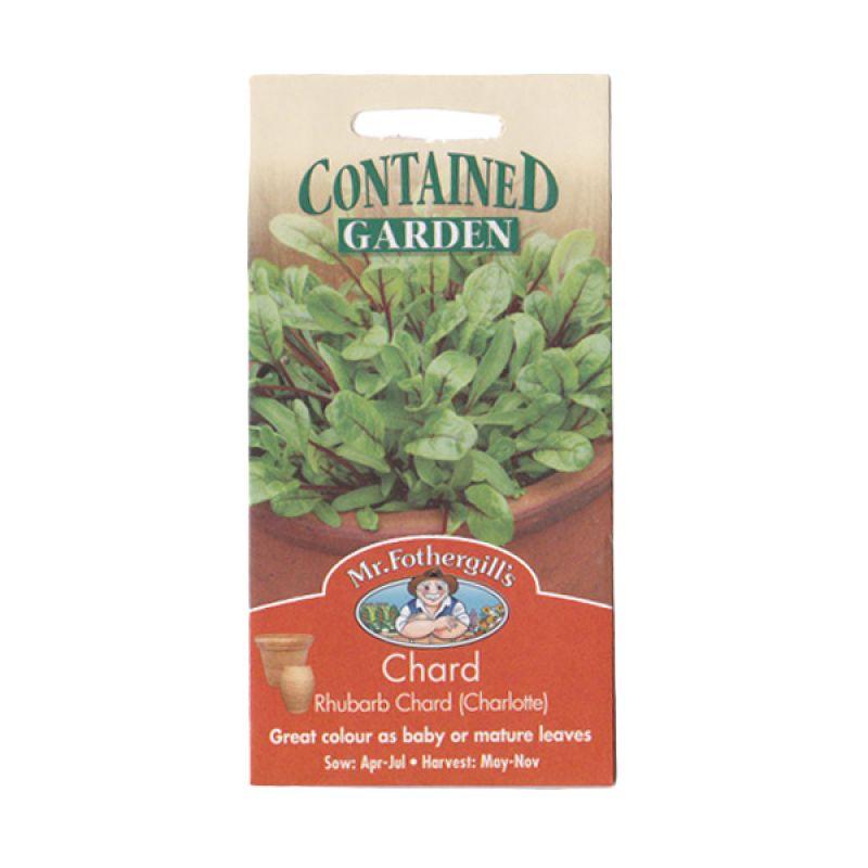 Mr.Fothergill's Chard Rhubarb Charlotte Bibit Sayuran