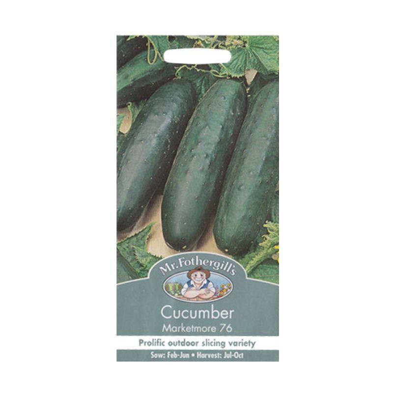 Mr.Fothergill's Cucumber Marketmore Bibit Sayuran