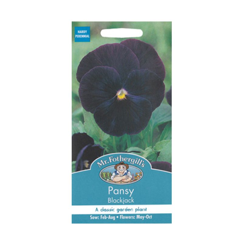 Mr.Fothergill's Pansy Blackjack Bibit Bunga