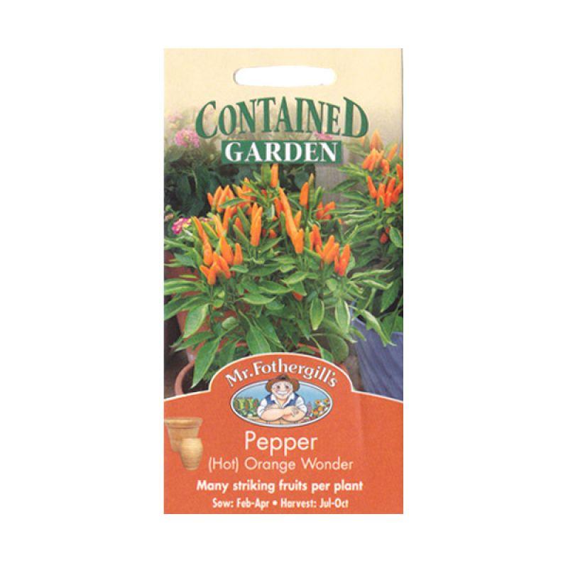 Mr Fothergill's Pepper Hot Orange Bibit Tanaman