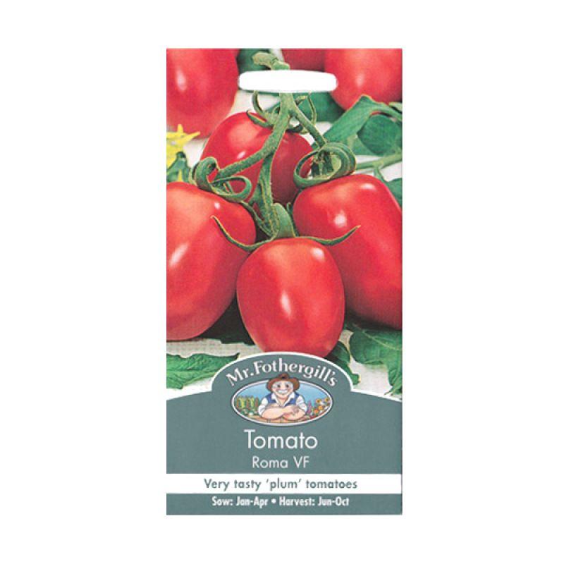 Mr Fothergill's Tomato Plum Roma VF Bibit Tanaman