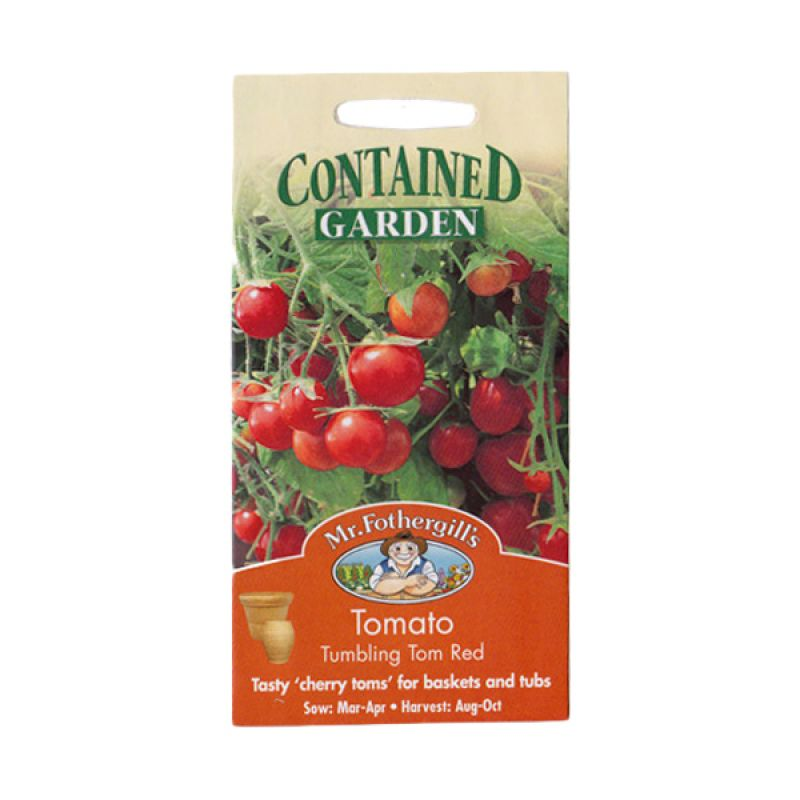 Mr Fothergill's Tomato Tumbling Tom Red Bibit Tanaman [Cherry]