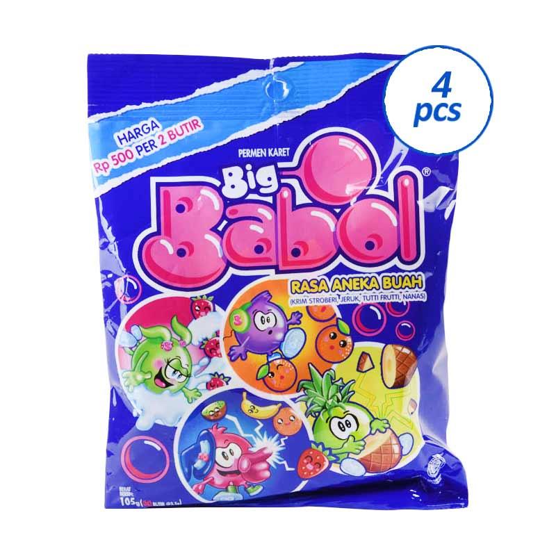 Big Babol Assorted 825946 [30x3.8g] x 4 Pcs