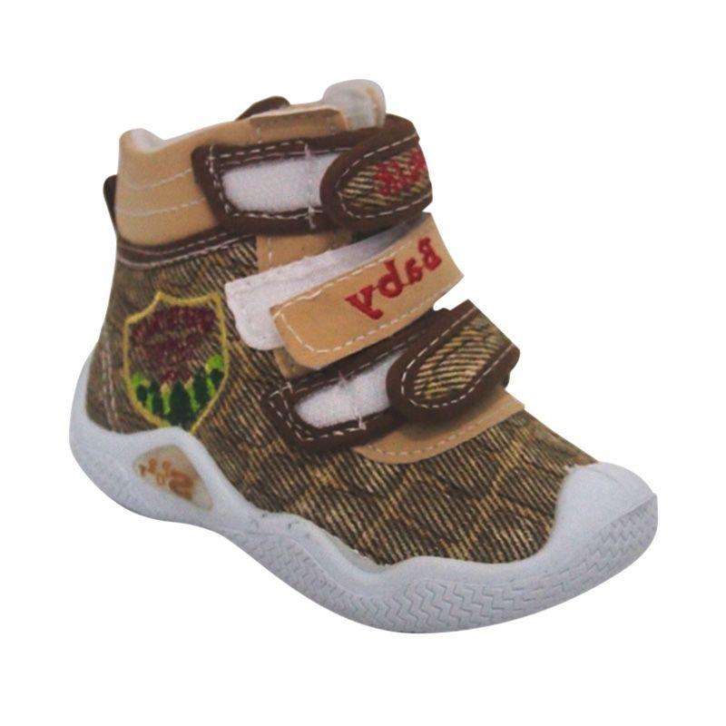 Starwalk Dino 102 Brown Beige Sepatu Bayi