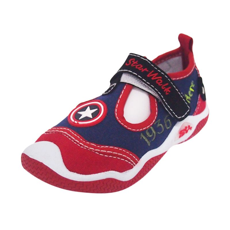 Starwalk Sky 102 Navy Red Sepatu Bayi