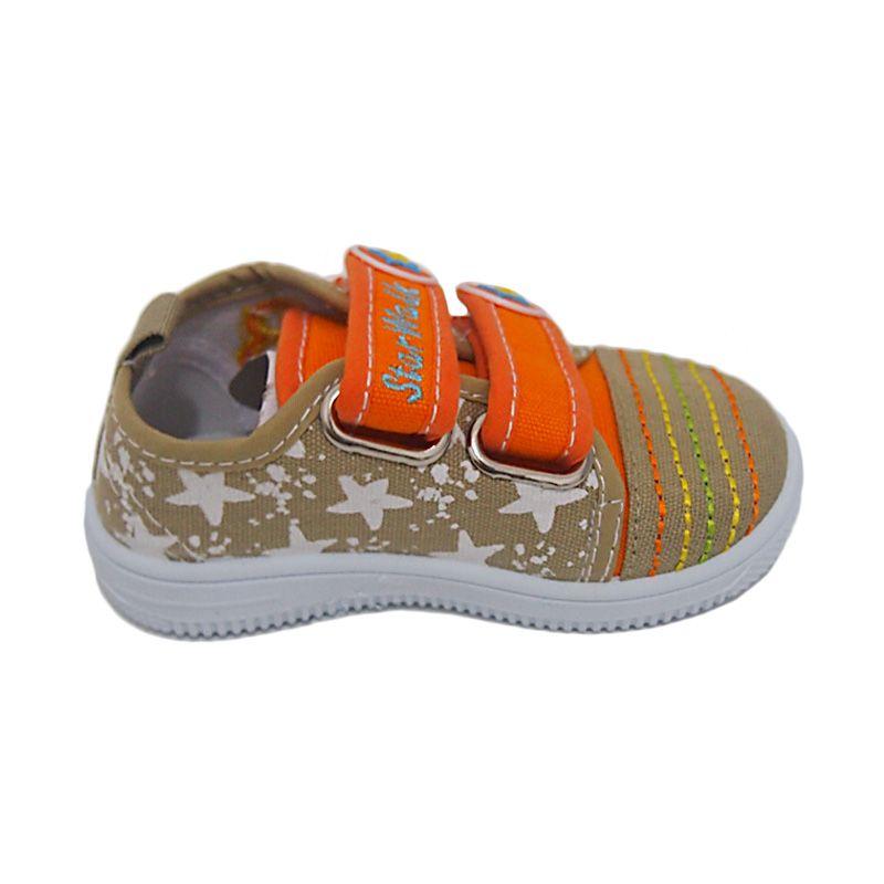 Starwalk Star 103 L. Brown Orange Sepatu Bayi