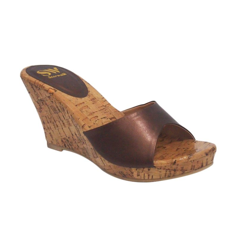 Starwalk WG 301 Brown Sandal Wanita