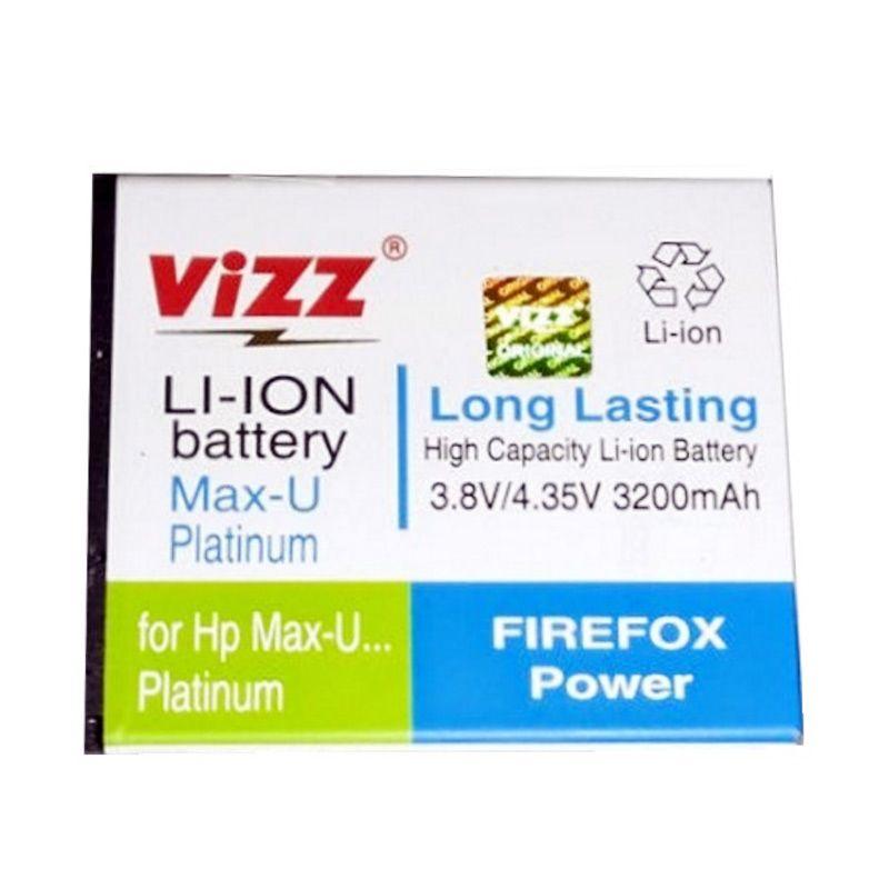 Vizz Battery for Smartfren Andromax U/U Platinum [3200 mAh]