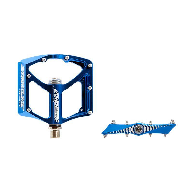 Straitline Pedal AMP Chromo Spindle 1843 Blue