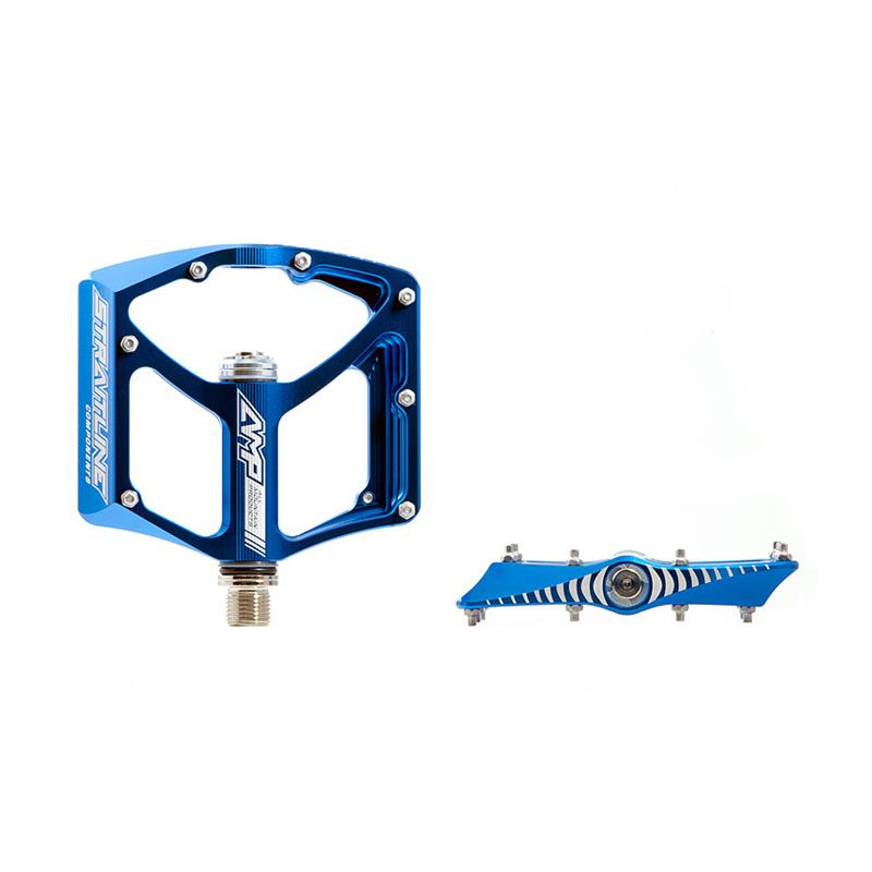 Straitline Pedal AMP Ti Spindle 1853 Blue