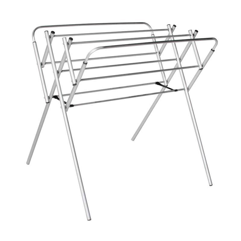 harga BINAKARYA Aluminium Jemuran Baju Mini - Silver [80 cm] Blibli.com