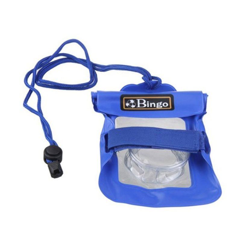 Bingo Camera Zipper Blue