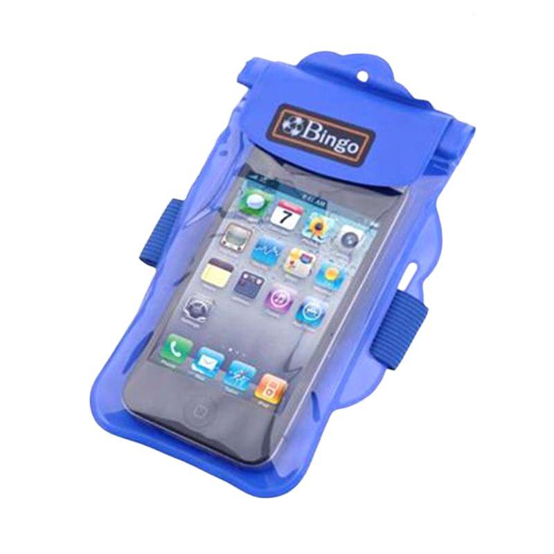 Bingo HP Zipper WP06-11 Blue Waterproof Pouch [5 Inch]