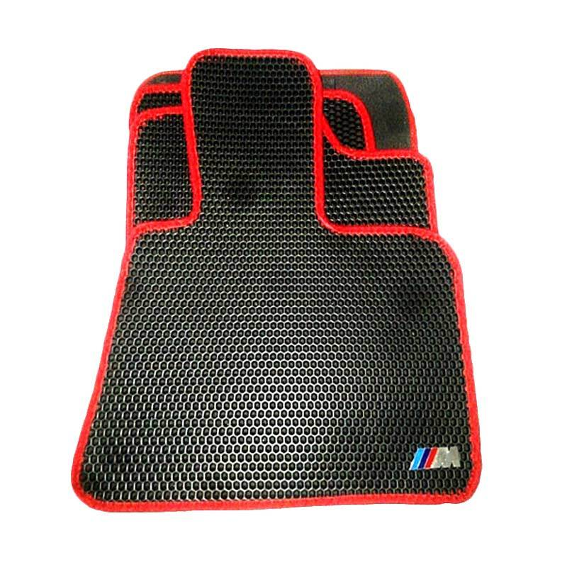 Bio 88 Carmat List Merah Karpet Mobil Untuk BMW 320