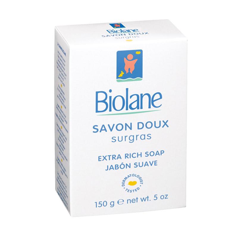 harga Biolane Exra Rich Soap Jabon Suave [150 g/0 Bulan Keatas] Blibli.com
