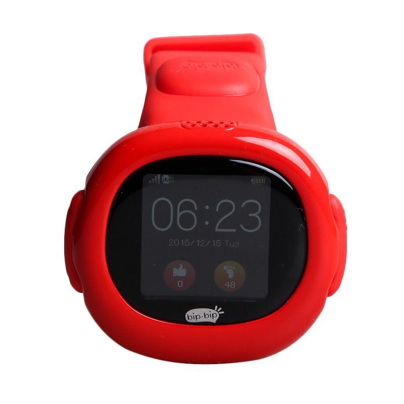 harga Bipbip v.02 Smart Watch Anak - Red Blibli.com