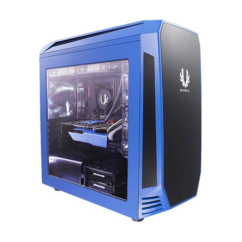 Bitfenix Aegis Blue Casing for Motherboard Mini-ITX/MicroATX