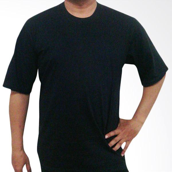 Jual Bursa Kaos Polos Big Size Hitam Kaos Pria Online