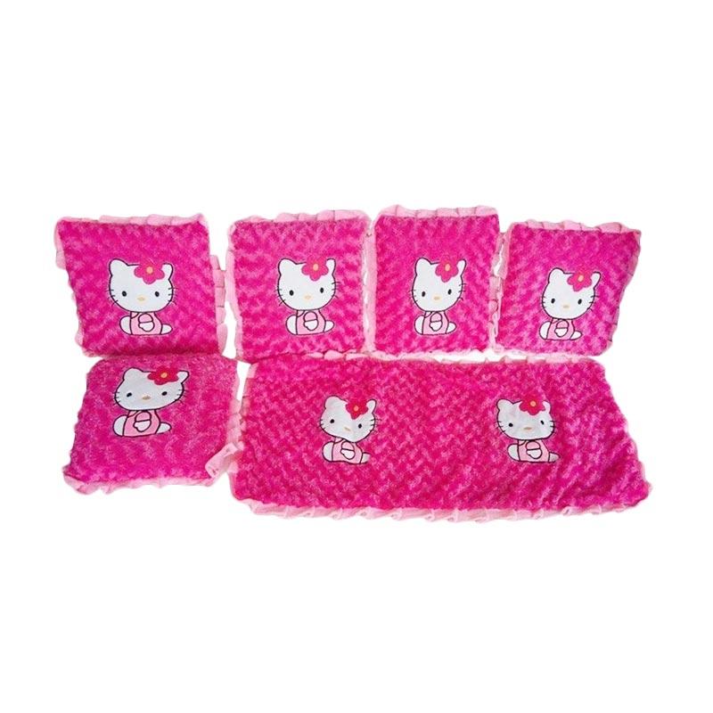 BL Hello Kitty Set Bantal- Pink