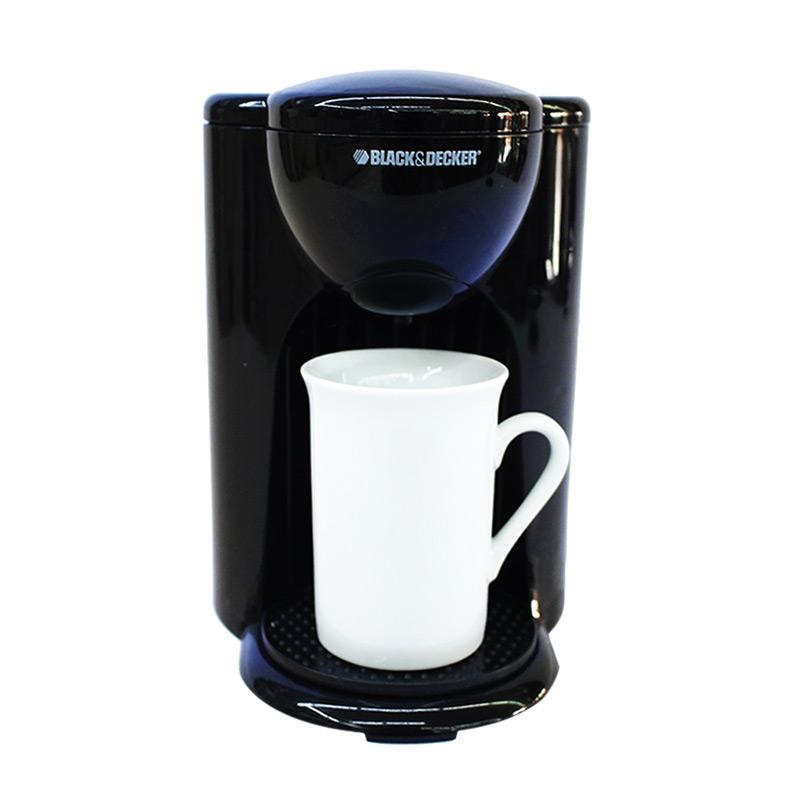 Black And Decker One Cup Coffee Maker Manual : Jual Black and Decker DCM25-B1 Coffee Maker [One Cup] Online - Harga & Kualitas Terjamin ...